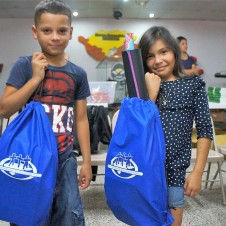 Schools supplies for our sponsor kids